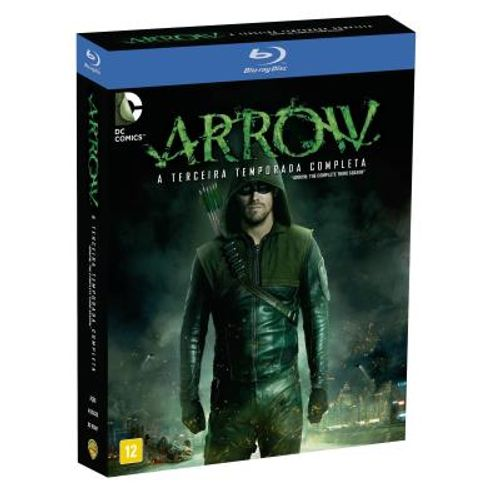 Arrow - 3ª Temporada Completa ( Blu - Ray ) ( 4 Discos ) cod. 7038852 ( DVD )
