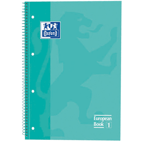 Caderno-Oxford-Europeanbook-1-AZUL-TURQUESA