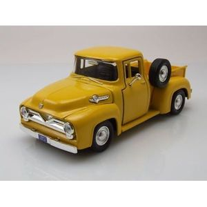 1955-FORD-F100-PICKUP--AMARELO-