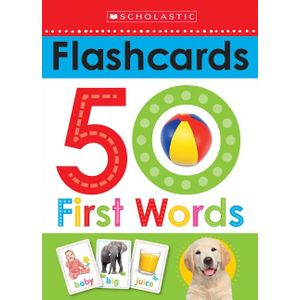 WRITE-AND-WIPE-FLASHCARDS--FIRST-50-WORDS--SCHOLASTIC-EARLY-LEARNERS-