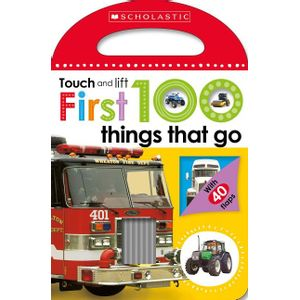 FIRST-100-THINGS-THAT-GO--SCHOLASTIC-EARLY-LEARNERS--TOUCH-AND-LIFT-