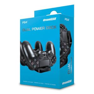 CARREGADOR-P--CONTROLE-PS4-DREAM-GEAR-DUAL-POWER-DOCK