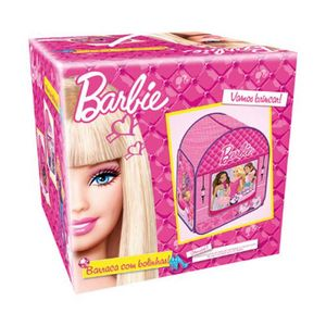 Barraca-Infantil-Barbie-Com-50-Bolinhas